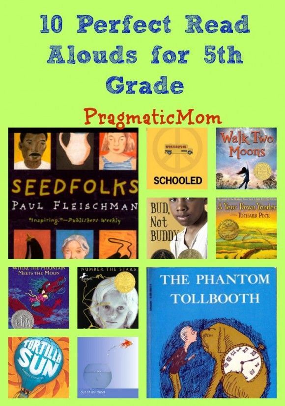 10 Perfect Read Alouds for 5th Grade :: PragmaticMom