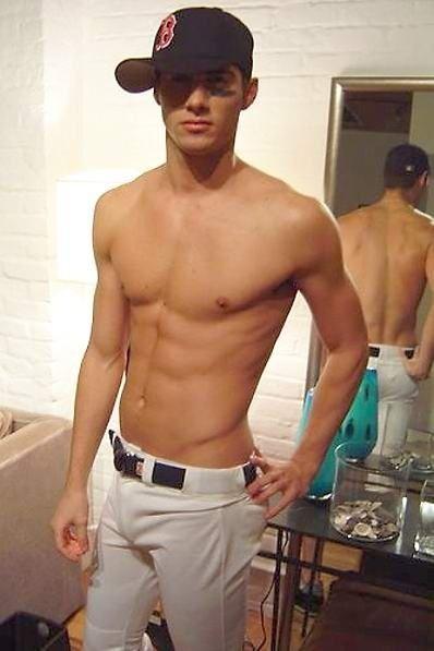 gotta love a boy in baseball pants ;)... wow