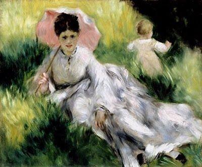 Pierre Auguste Renoir (1841-1919). Woman with Parasol