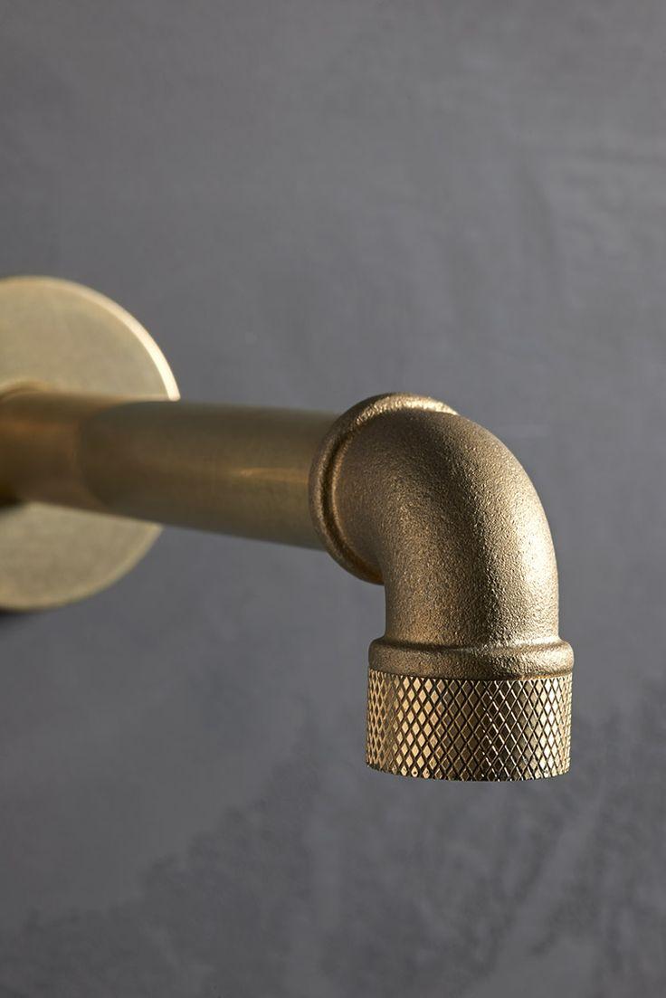 Watermark bathroom accessories - Elan Vital Industrial Style Bathroom Fawcett The Watermark Collection
