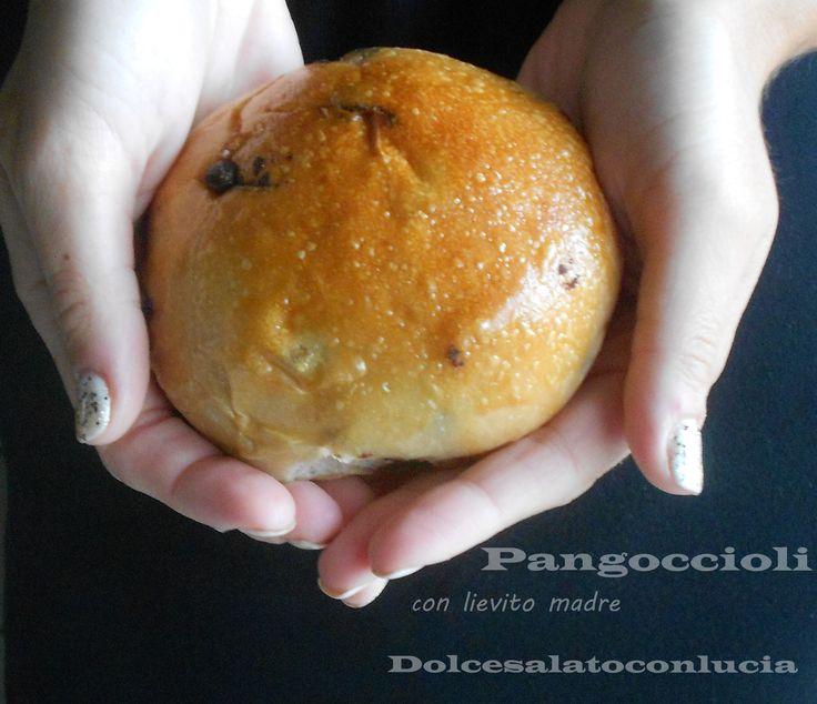 Pan+goccioli+sofficissimi+con+yogurt,+senza+uova+e+burro+con+lievito+madre