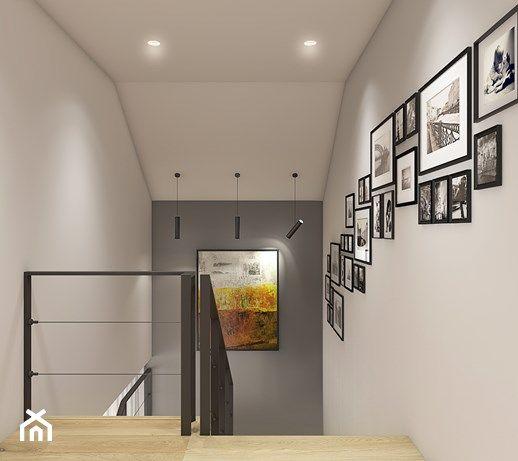 Dom pod Krakowem - przestrzeń zupełna - Hol / przedpokój, styl nowoczesny - zdjęcie od WERDHOME - homebook