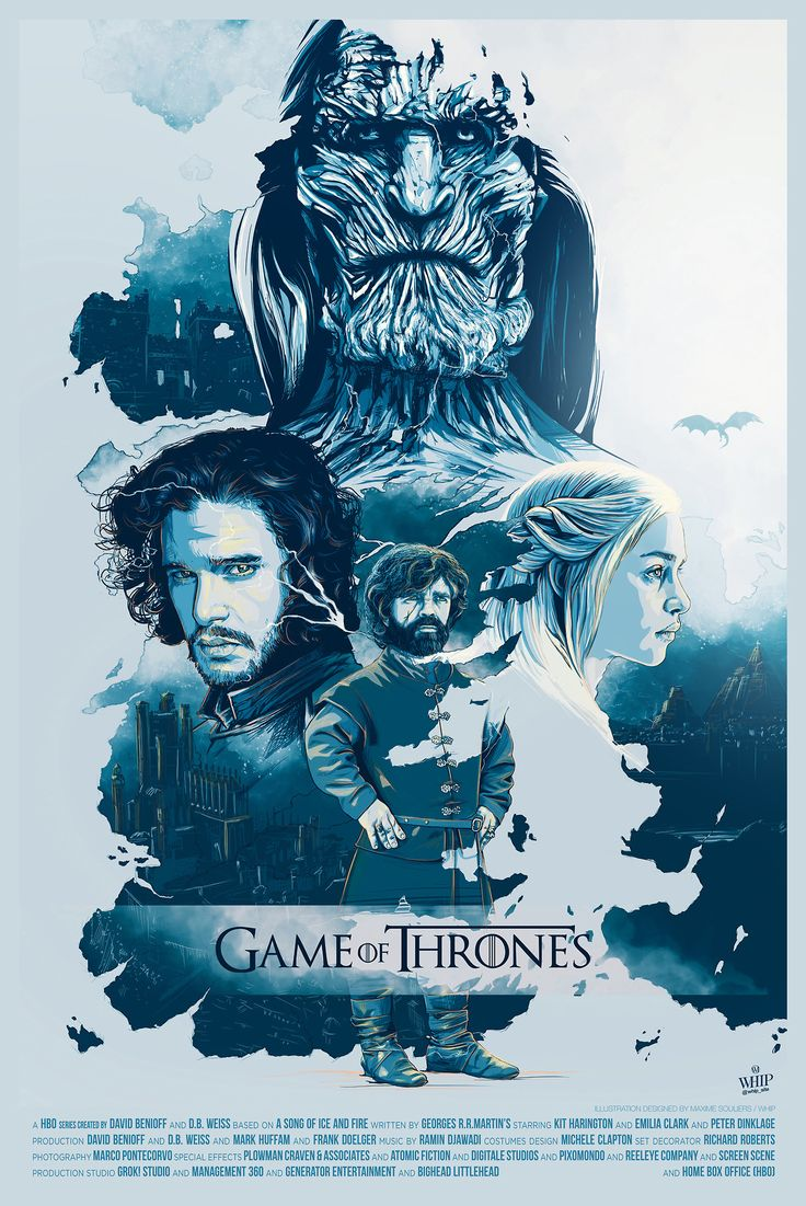 Game of Thrones Poster - Created by Whip