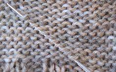 stricken etc.: stricktechnisches: fäden vernähen