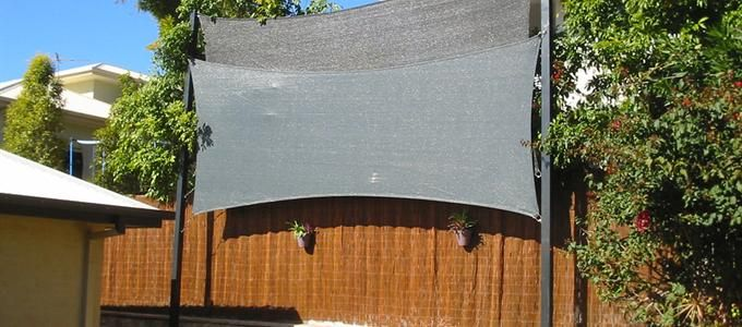 Shade Sail To Extend Fence Google Search Backyard