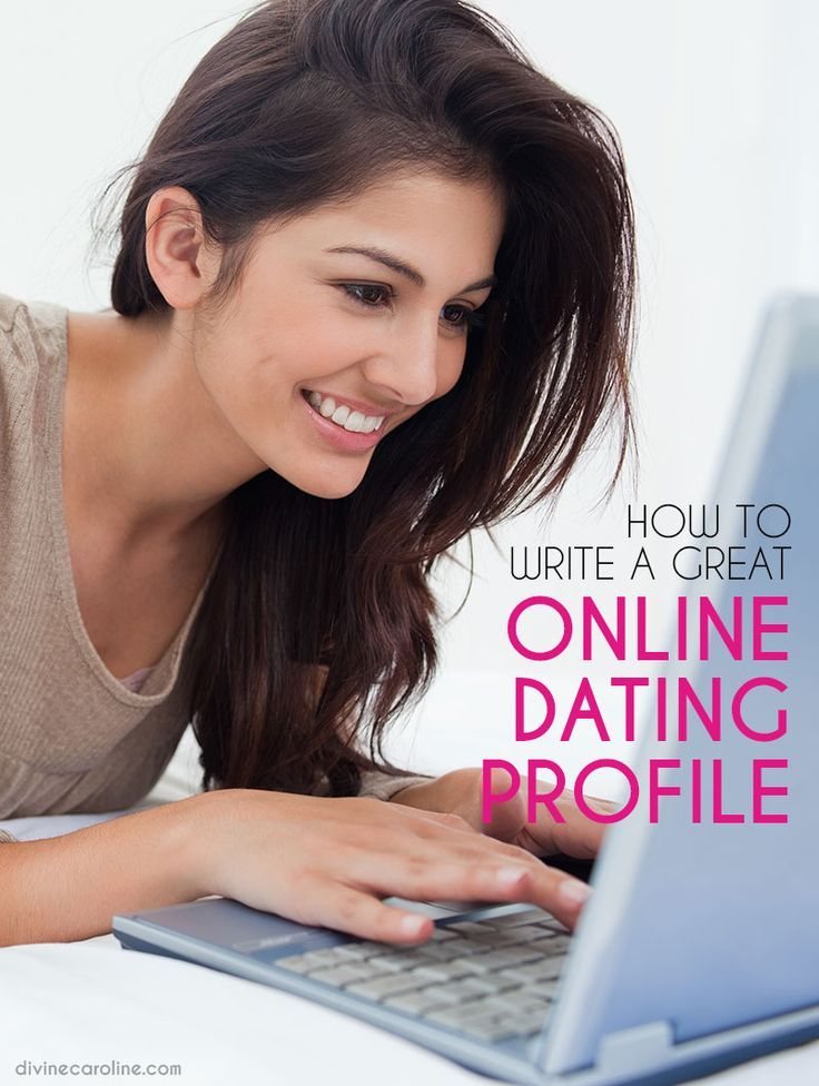 How to write a personal profile for online dating