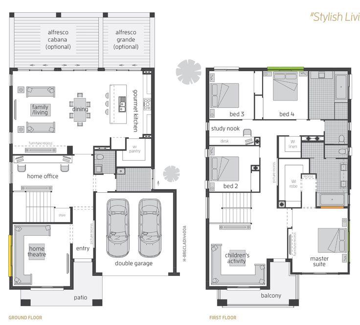 The Bridgetown floor plan