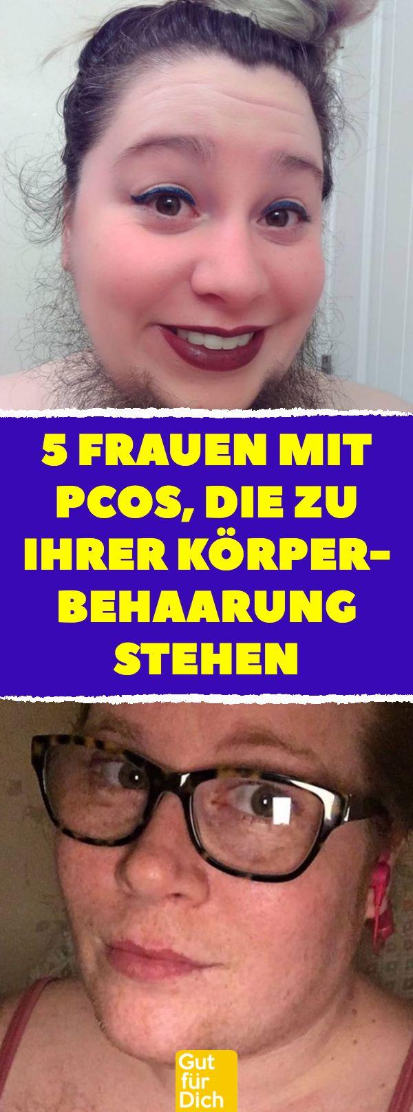 5 Frauen mit PCOS, die zu ihrer Körperbehaarung stehen