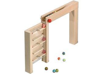 knikkerbaan accessoire 'torenflat' Haba | kinderen-shop Kleine Zebra