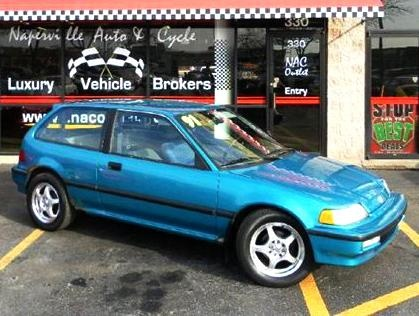 Cheap used Honda Civic DX year 1991 for sale for only $2175