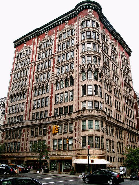 """75 East 66th Street at Madison Avenue    A beautiful 1908 building, in the """"Perpendicular Gothic"""" style, in Manhattan's Upper East Side."""