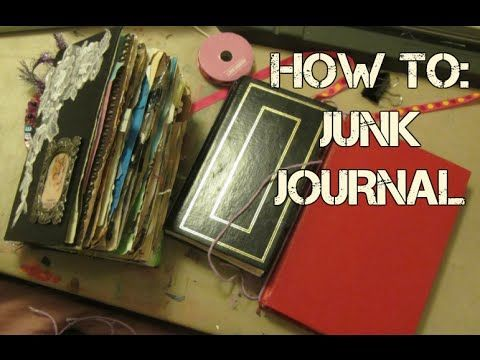 LET'S MAKE A JUNK JOURNAL | SUPER EASY | DIY | SUGAR - YouTube