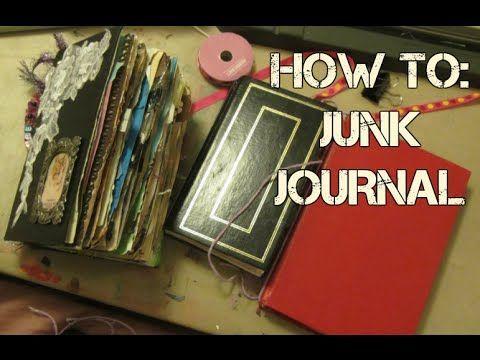 LET'S MAKE A JUNK JOURNAL | SUPER EASY | DIY | SUGAR - YouTube