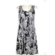 black and whiteprint dress - Google-haku
