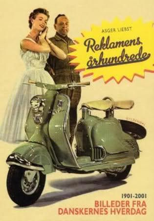 Cool Vintage Ad for scooter ......