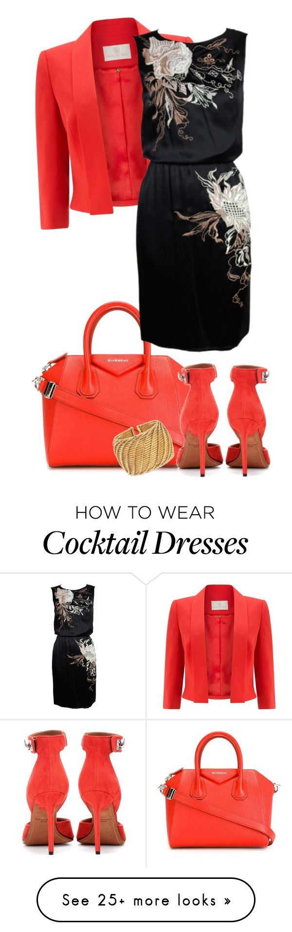 """- 58 - Givenchy - Bag & Shoes"" by atenaide86 on Polyvore featuring Givenchy, Jacques Vert, Ross-Simons and Valentino"