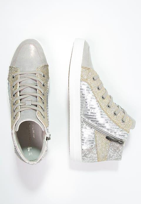 Diese glitzernde Schönheit gehört bald dir. Tamaris Sneaker high - grey für 59,95 € (29.12.16) versandkostenfrei bei Zalando bestellen.