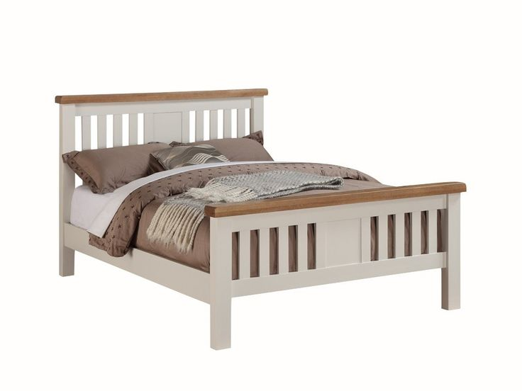 graceland white king size bed frame - Double Size Bed Frame
