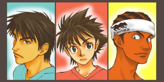 Eyeshield 21 ~~ Shin, Sena & Panther