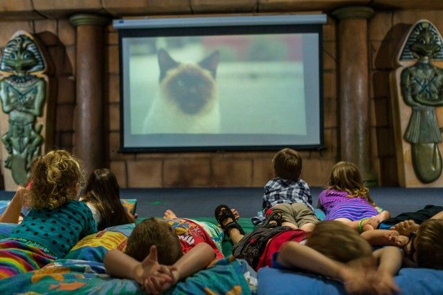 When it comes to unwinding the Z4K also features an indoor theatre for the kids.