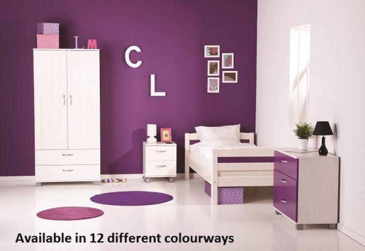 Thuka Trendy 6 Single Pine Bed Frame (Choice Of Colours) by Thuka