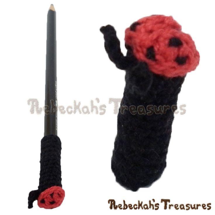 82 best Ladybug Crochet Patterns images on Pinterest | Mariquita de ...