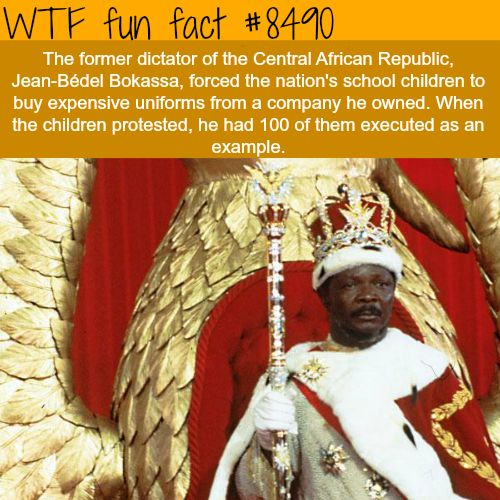 The worst humans in history - WTF fun facts