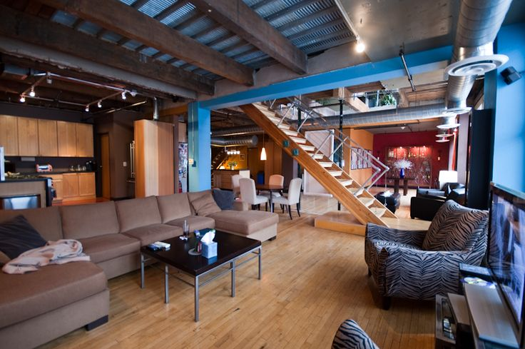 9 Best Lofts Exposed Ductwork Images On Pinterest