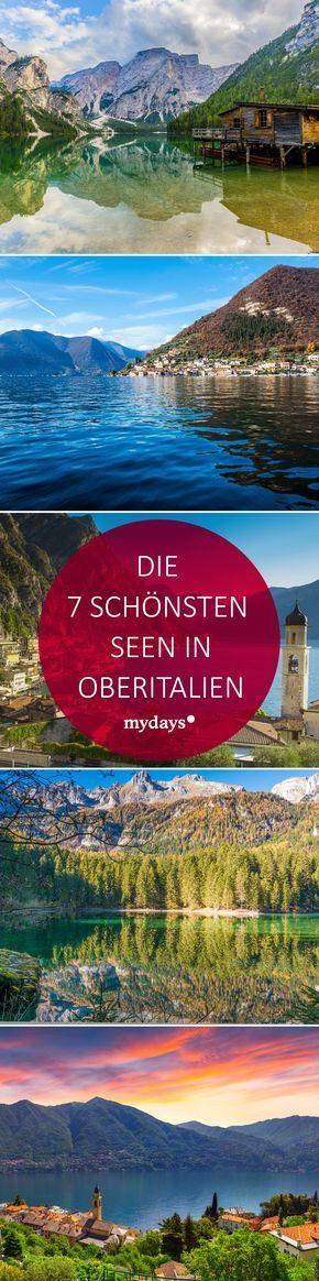 Entdecke die 9 schönsten Seen in Oberitalien