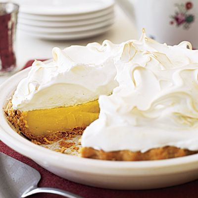Mile-High Lemon-Lime Meringue Pie | Recipe