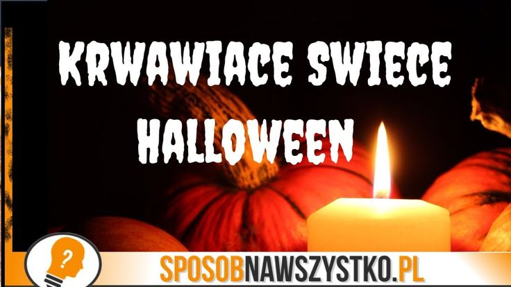 Jak zrobić krwawiącą świeczkę? Gadżety na Halloween #halloween #halloweendecorations
