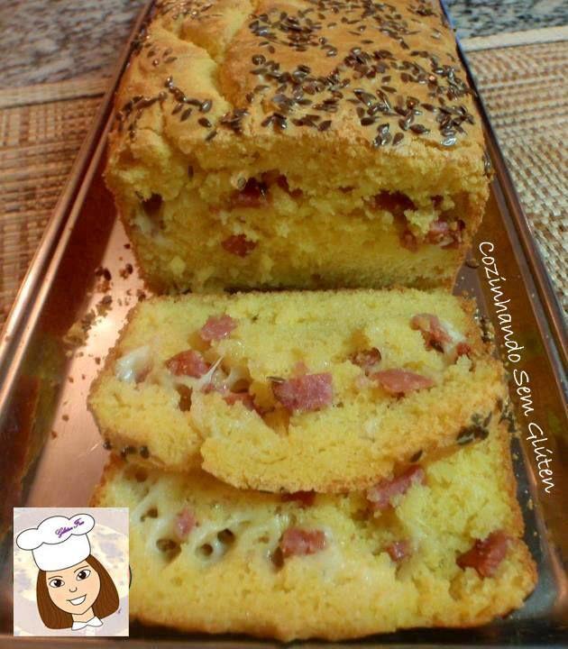 Cozinhando sem Glúten: Pão de liquidificador recheado