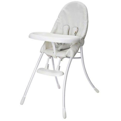 chaise haute nano bloom baby blanc
