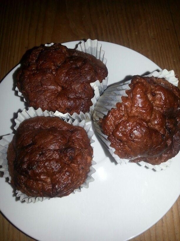 Dadelmuffins, gluten, suiker en melk vrij