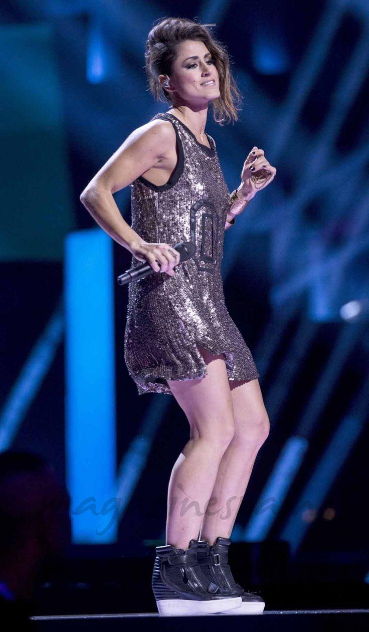 Barei, últimos ensayos para la final de Eurovisión 2016
