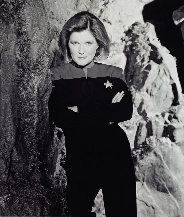Kate Mulgrew: As commanding in life as her 'Star Trek' alter ego