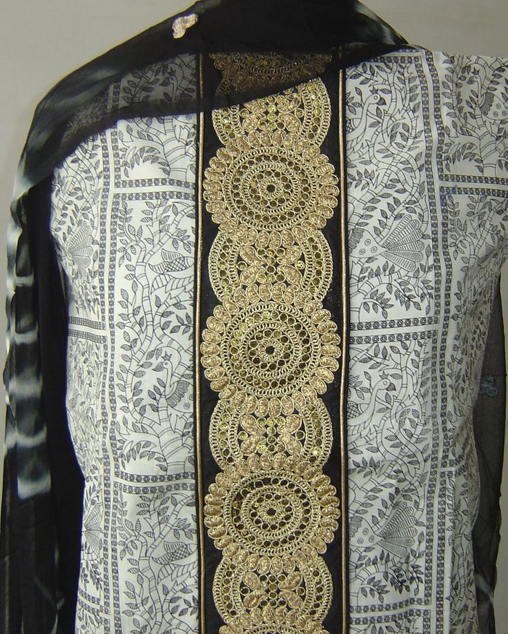 Cotton suit with zari border. For orders and inquiries, please mail us at naari@aninditacreations.com.  Like us at www.facebook.com/naari.aninditacreations