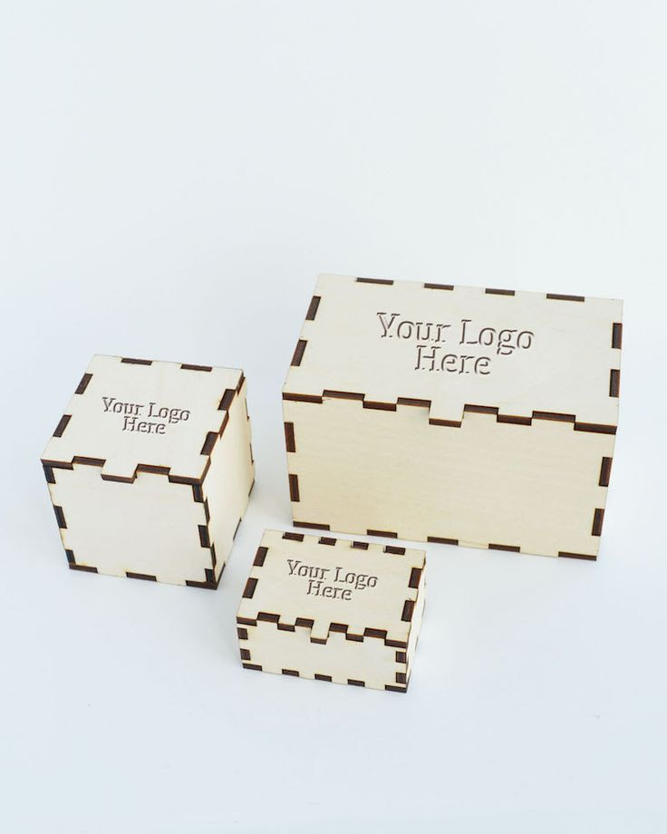 10 20 30 Packaging Box in Wood with Lid Pack of 10 20 30 Laser Cut Small Product Packaging Box Customised with Your Logo