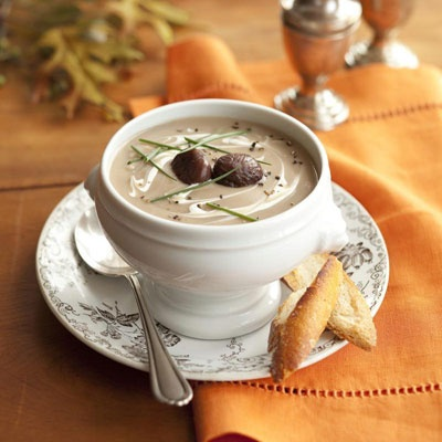 Chestnut Parsnip Soup Recipe - Good Housekeeping