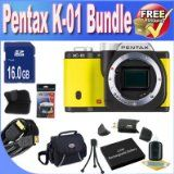 Cost Comparisons Of Pentax K-01 16MP APS-C CMOS Compact Program Digital camera [Human body] (Yellow) + Extended Life Battery + 16GB SDHC Course 10 Memory Card + USB Card Reader + Memory Card Wallet + Deluxe Case w/Strap + Shock Proof Deluxe Situation + Mini HDMI to HDMI Cable + Accent Saver Bundle! Low-cost - http://buyingmanual.com/cost-comparisons-of-pentax-k-01-16mp-aps-c-cmos-compact-program-digital-camera-human-body-yellow-extended-life-battery-16gb-sdhc-course-10-memory
