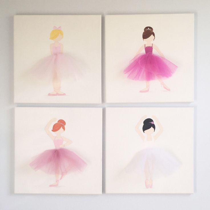 Ballet Wall Art 24 best ballerina wall art images on pinterest | ballerina nursery