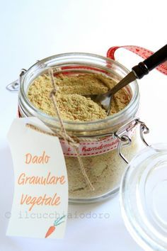 il cucchiaio d'oro » Il dado granulare fatto in casa