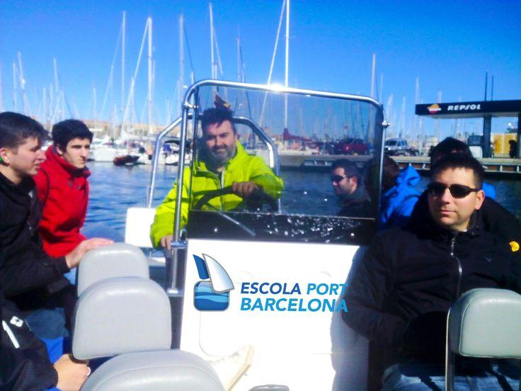 Curso licencia de navegación en el Port Olimpic de Barcelona