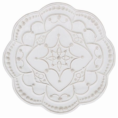 Juliska Jardins du Monde Grande Charger Plate White
