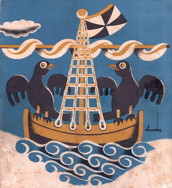 Almada Negreiros, LISBOA, 1930