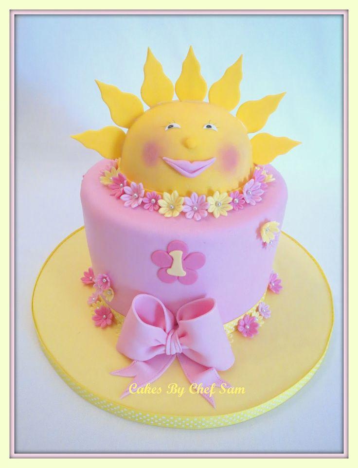 The 25 best Sunshine birthday cakes ideas on Pinterest Sunshine