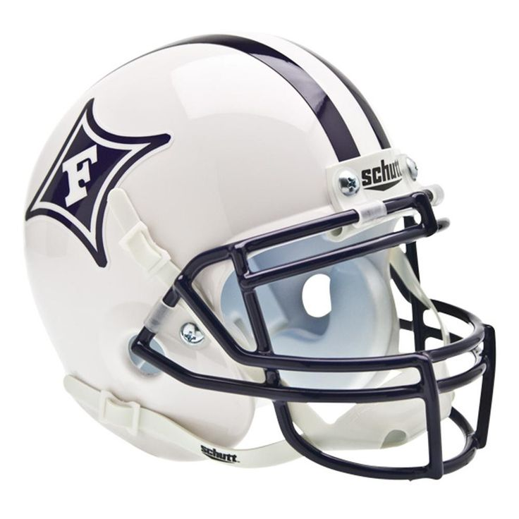 Furman Paladins NCAA Authentic Mini 1-4 Size Helmet