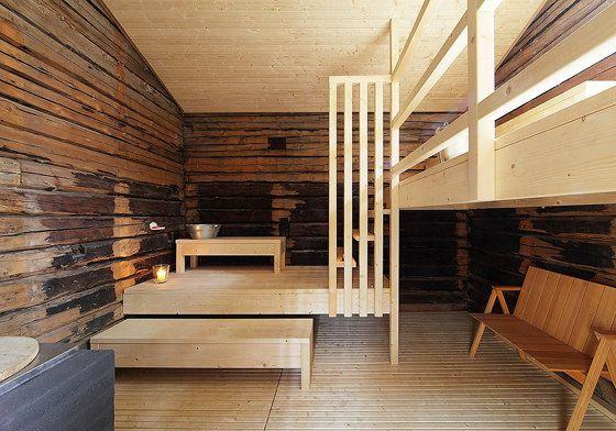 Old barn converted into a sauna.  Lassila Hirilammi Architects_