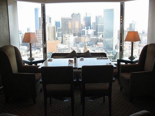 Grand Hyatt Melbourne Club Lounge. Great view of #Melbourne.