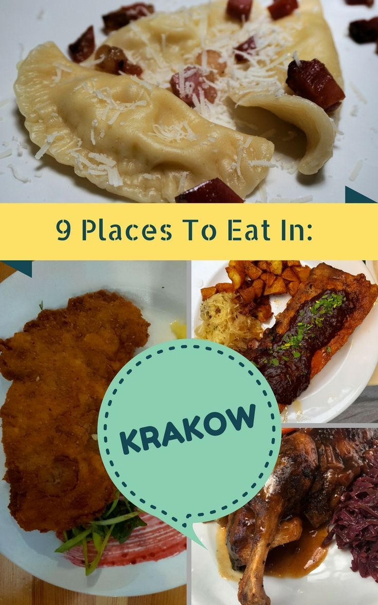 9 of the BEST places to eat Polish cuisine on your next visit! When you travel to Krakow in Poland you want to get under the skin of the vibrant city's culture - and how better to do that than with food? From foodie traditions to fast food to dinner with castle views, these are the restaurants that will make your next holiday to Poland ROCK! Check them out now on The Stylish Traveler.